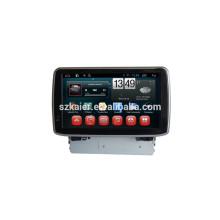 HOT! Auto dvd mit spiegel link / DVR / TPMS / OBD2 für 8 zoll capactive bildschirm 6,0 Android system MAZDA 3