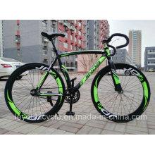 Grande venda de bicicletas com engrenagens fixas baratas / 60 Knife Aluminu
