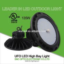 El alto efficency UFO High Bay llevó luces 135w al aire libre luz luz de calle luz de inundación al aire libre
