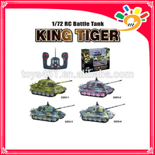2203 New Product 1:72 Scale RC Tank For Sale Multichannel Mini Tank