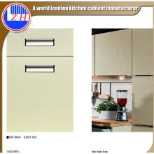 Gabinete de cocina de madera brillante (acrílico)