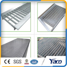 Galvanized steel grating, trench drain grating cover
