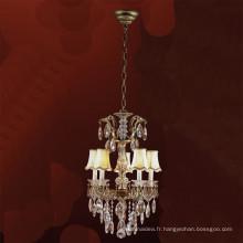 Lampe pendante d'art de fer en métal industriel / lustre d'évasement / lampe accrochante
