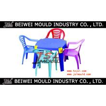 Molde plástico da tabela e da cadeira / molde plástico da mobília