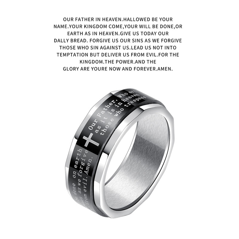 christian spinner rings