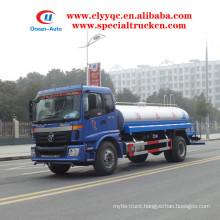 Foton Auman 12000 liters water bowser 4X2 water sprinkler for sale