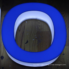 Outdoor Used LED Lighting Acrylic Letter Sign
