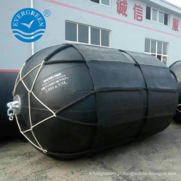 Certificado de ABS Marine Yokohama navio fender para navio