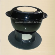 Enamel Cast Iron Cheese Fondue China Supplier