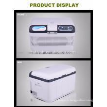 Кв-р-р-12л(104) dc12 с-1-24В переменного тока 220В автомобиля и дома двойного использования автомобиля холодильник автомобиль кулер(сертификат CE)