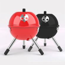 Mode runde Form tragbare BBQ Charcoal Grill im Freien