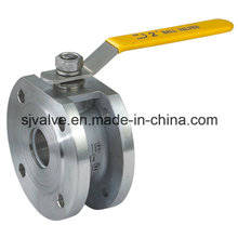 Wafer Flange Stainless Steel Ball Valve