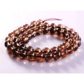 Loose 8MM Natural Smoky Quartz Round Beads 16Inch for DIY Fashion Gemstone jewelry