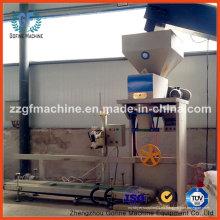 Máquina de llenado de pesaje y embalaje para piensos y granos