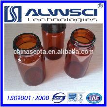 Fabrication 40ML Amber EPA VOA Vial avec PP cap, Borosilicate verre