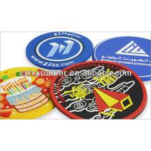 silicone rubber cup coasters,coasters rubber