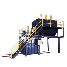 машина по переработке пены на заводе по производству мочалок