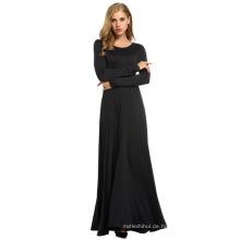 Mode Großhandel muslimische Frauen abaya Ärmel lange Frauen Kleid