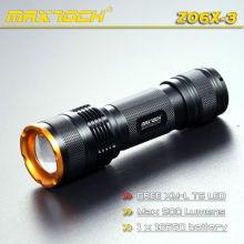 Maxtoch-ZO6X-3 1000 Lumen Zoom Focus LED-Taschenlampe