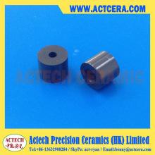 Manguito / buje de cerámica de nitruro de silicio de mecanizado de precisión