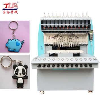 Automatic Glue Dispenser Machine for Keychains