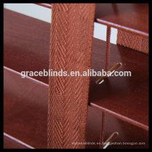 Persianas venecianas de madera revestidas UV 25/35 / 50mm