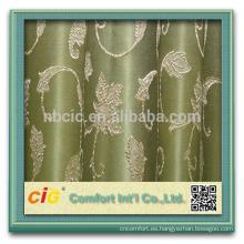 2014 moda diseño del telar jacquar del cordón de la cortina/la cortina/del Organza cortina