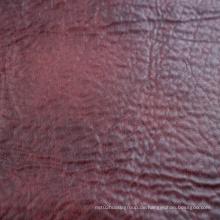 2016 Großhandels100% Polyester-synthetisches Leder-Gewebe von der Fabrik
