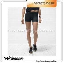 Nuevos pantalones cortos corrientes baratos personalizados de la llegada para las mujeres