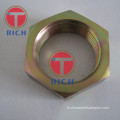 Tube en acier au carbone hexagonal