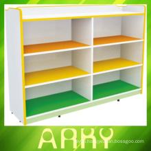 Kindergarten Furniture Multifunctional Storage Cabinet Toy Cabinet- six