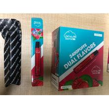 Switch Cigarette Double Flavors 2400puffs Disposable Vape