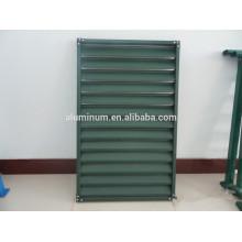 China 6063 Revêtement en poudre Aluminium Shutter Window