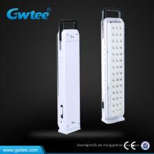 High Capacity Notfall wiederaufladbare Licht, tragbare Notlicht