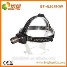 Factory Versorgung Einstellbare Zoom Focus LED Scheinwerfer Scheinwerfer, Cree LED Scheinwerfer 3AAA Batterie 160lm