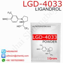 Versorgung 1165910-22-4 Professional Sarms Pulver Lgd-4033 / Ligandrol für Muskelschwund