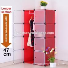 Vivinature KD Storage Cabinet BLACK/WHITE