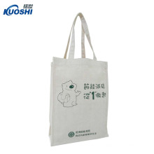 Cheap organic cotton bags with pocket dye sublimation
