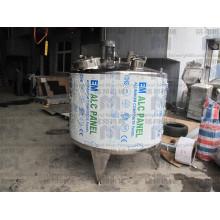 Заводская цена Санитарный бак из нержавеющей стали с подогревом смешивания с мешалкой