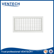 HVAC Systems Air Condition Aluminum Supply Double Deflection Grille