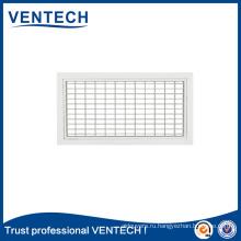 Системы отопления, вентиляции и кондиционирования воздуха Алюминиевая подача воздуха Решетка с двойным отклонением