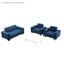 Blue Fabric Office Sofa Seating for Office Projects