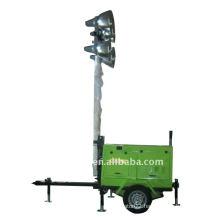 portable mobile light tower truck light tower