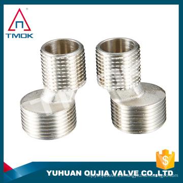 Acoplamiento rápido líquido de 1 pulgada de alta calidad con material cw617n con válvula de control forjada PN 40 y DN 20