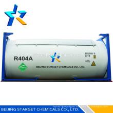 A/C Gas R404A, R404a refrierant gas, R404a Refrigerant gas ISO tank