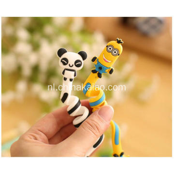 Populaire Cartoon Soft Pvc Rubber Winder