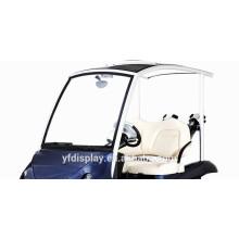 Hochwertige getönte Acryl Golf Car Windschutzscheibe