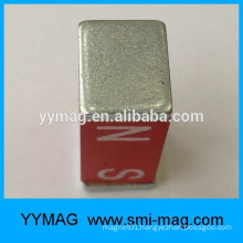 red paint magnets alnico block