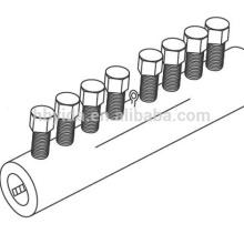 bar lock coupler mechanical splice rebar coupler for construction and building
