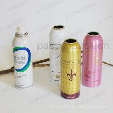 Aluminium-Sprühdose für Hautpflege-Aerosol-Verpackung (PPCC-AAC-022)